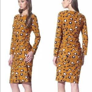 3.1 Phillip Lim For Target Ruched Cheetah Dress XS